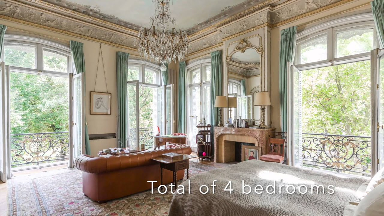 FOR SALE: Stunning Luxury Apartment In Paris, 8th In 19th Century Mansion    YouTube