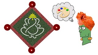 How to Draw Lord Ganesha : Step by Step