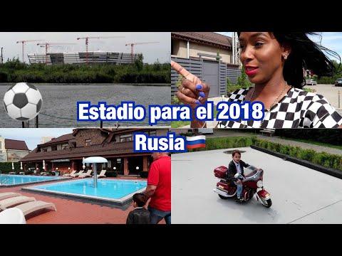 ESTADIO PARA MUNDIAL DE FÚTBOL EN RUSIA + TERMINAMOS CON TODO   4 Ago 2017