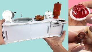 5 Coisas fáceis de fazer para Boneca Barbie - DIY Miniatura