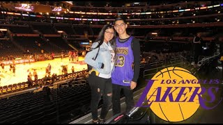 MY BOYFRIEND BOUGHT US LAKER GAME TICKETS!