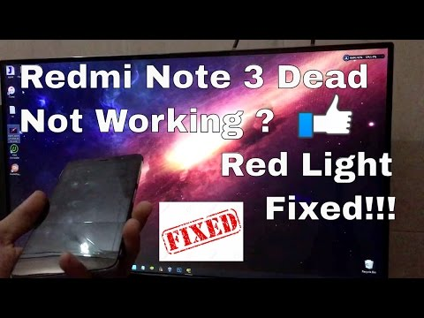 redmi note 3 dead solved!! Easiest Method Ever