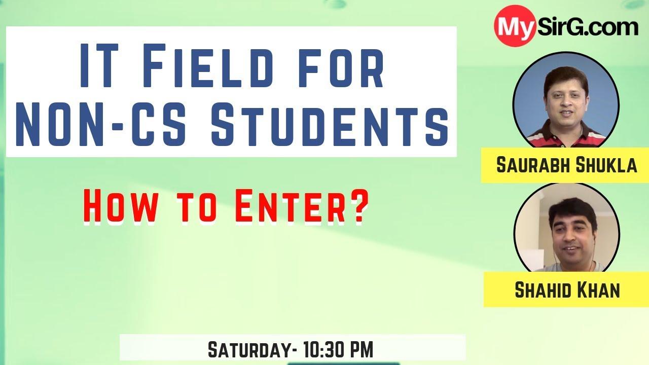 MySirG Webcast #32 | IT Field For Non-CS Students