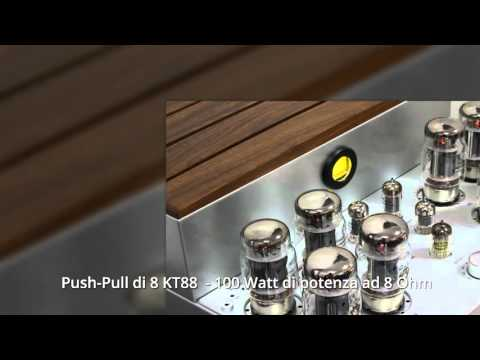 Amplificatore Valvolare Opera Audio Consonance Cyber 880i