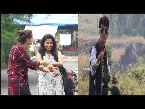 Bol Na Aunty Aau Kya Sot Me Lagau Kya Prank | Shouting Event Mumbai