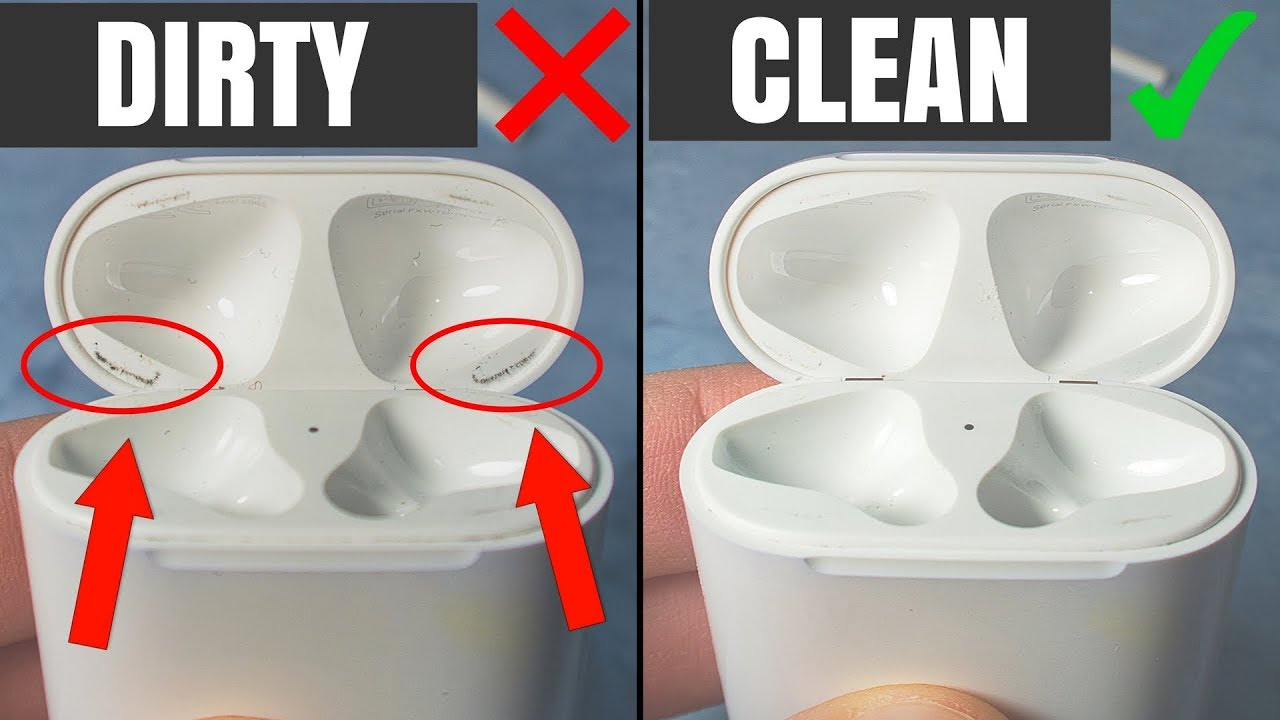 0a3ef0c2362 How To Clean Apple AirPods Case - Make It Shiny Again! - YouTube