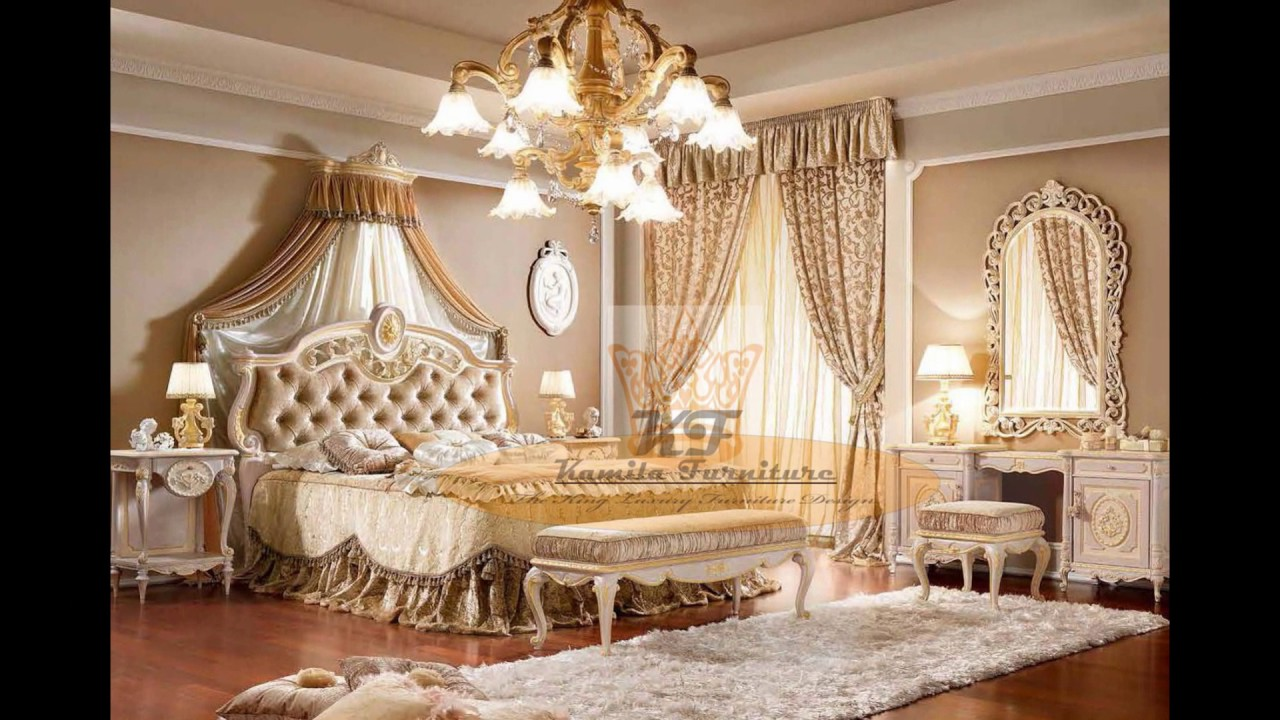 luxury classic italian furniture bedroom