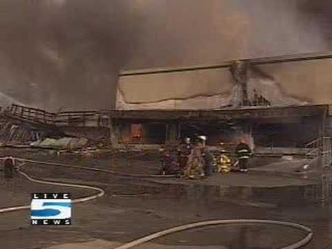 Charleston Fire   Video From The Scene