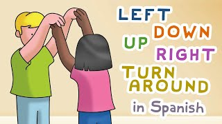 Amiguito - Spanish poem dance & song for children (left, down, up, right, turn around)