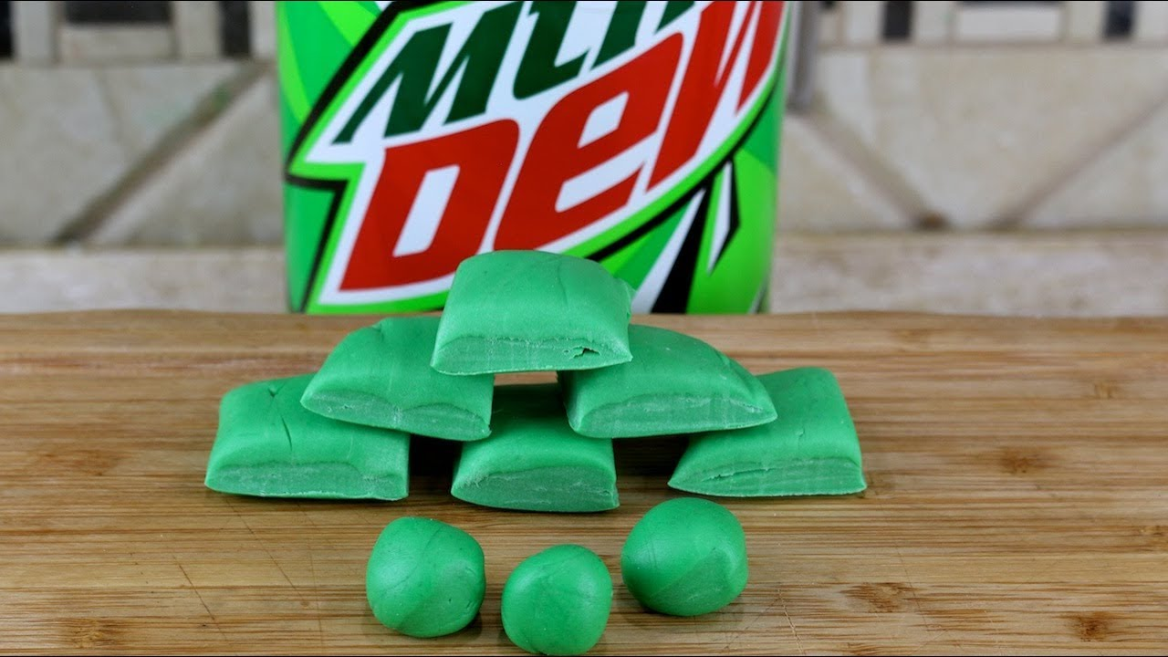 Mountain Dew Bubble Gum How To Make Homemade