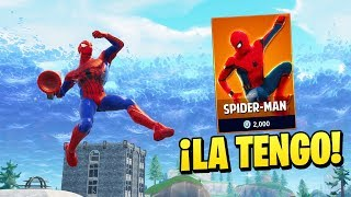 BUY THE SKIN OF ''SPIDERMAN'' in FORTNITE😱 (No clickbait) - Fortnite