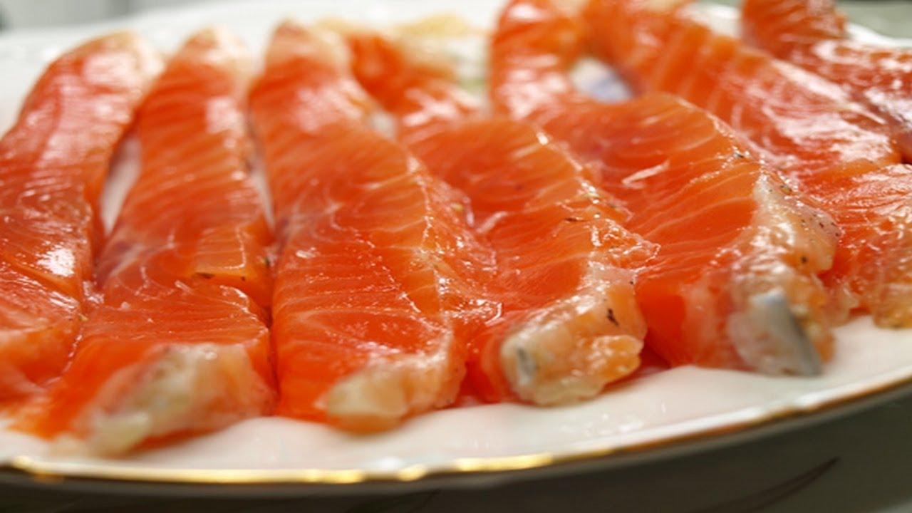 Засолка красной рыбы в домашних условиях рецепт 62