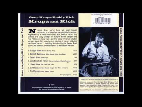 KRUPA AND RICH (Buddy Rich - Gene Krupa). FULL ALBUM.