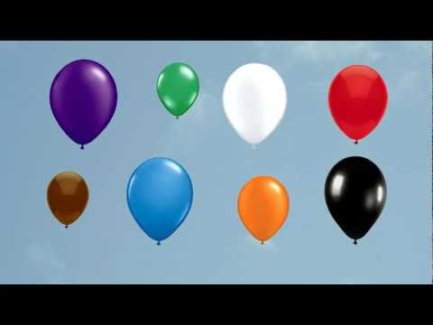 The Balloon Song (for learning colors) - Little Blue Globe Band