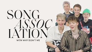 Download Why Don't We Sings Justin Bieber, Cardi B and Bruno Mars in a Game of Song Association | ELLE Mp3 and Videos