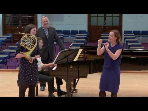 Sarah Willis Horn Masterclass at the Royal College of Music
