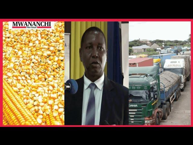 Alichokisema Profesa Mkenda kuhusu mahindi ya Tanzania huko Namanga mpakani