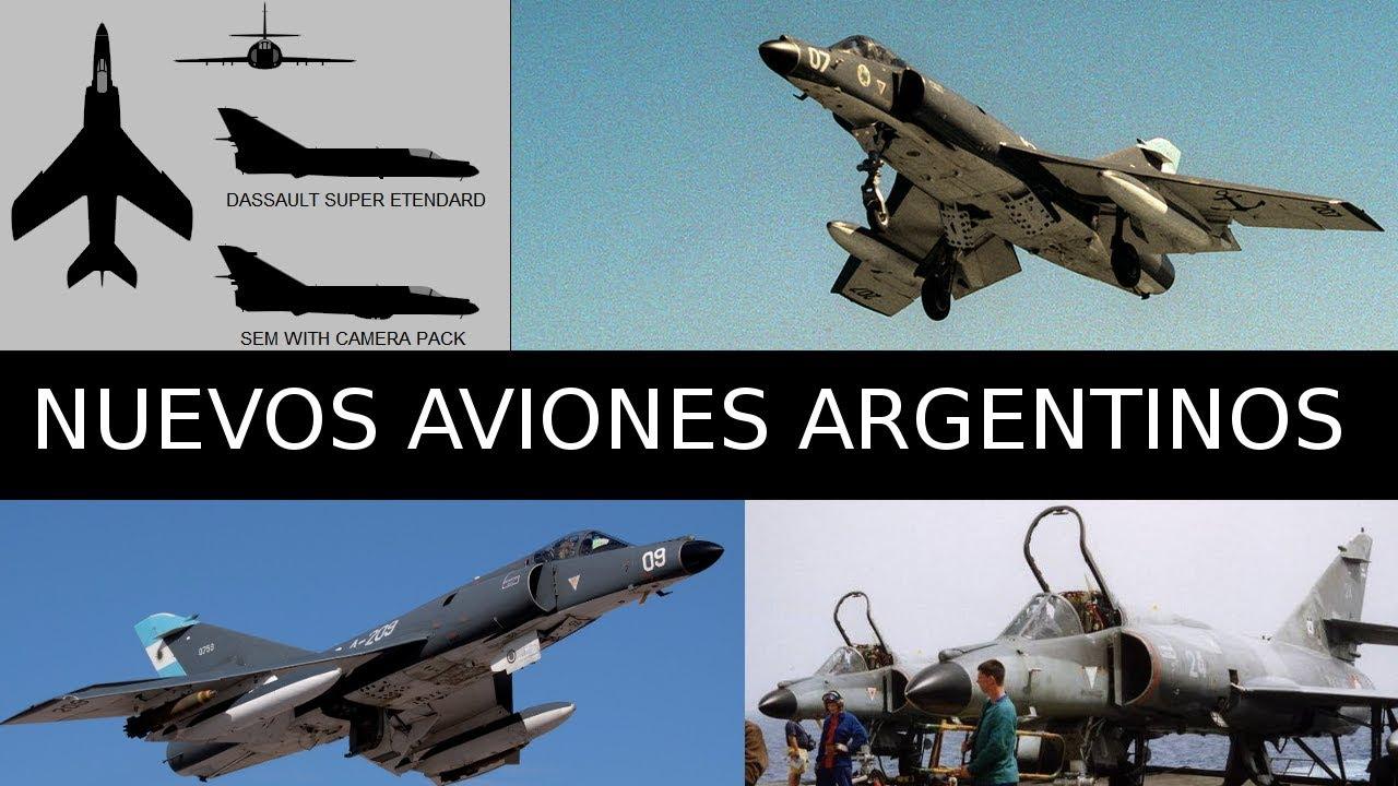 Argentina compro 5 aviones caza a Francia