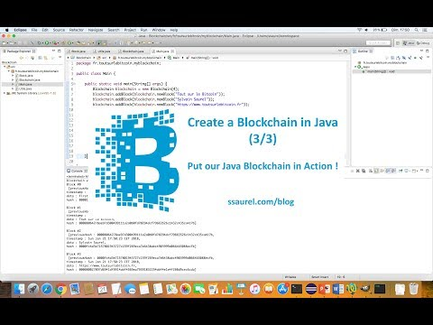Put our own Java Blockchain in Action !