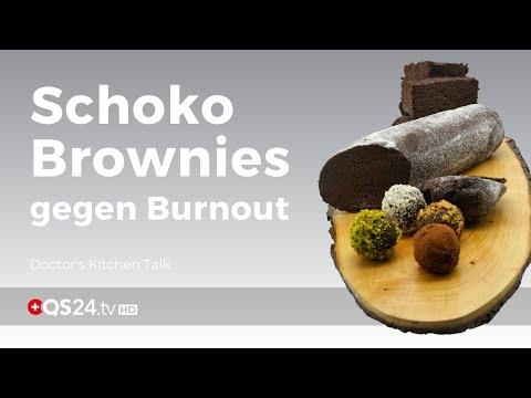 Schoko Brownies gegen Burnout