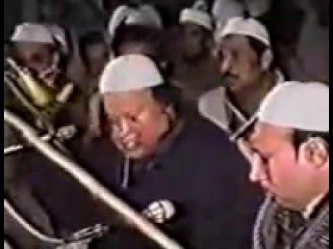 Ustad Nusrat Fateh Ali Khan (Jalalpur sharif) Peer Syed Barkat Shah Sahib