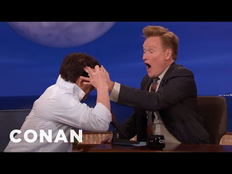 Jackie Chan Makes Conan Feel The Hole In His Head   CONAN on TBS