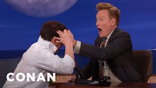 Jackie Chan Makes Conan Feel The Hole In His Head  - CONAN on TBS