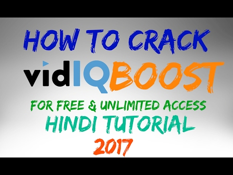 vidiq boost - How to crack vidiq boost for free unlimited Access youtube tools