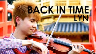 The Moon that Embraces the Sun |  Violin Cover by @OMJamieViolin | Back in Time - Lyn | 蜚蜚(陳僖儀) |