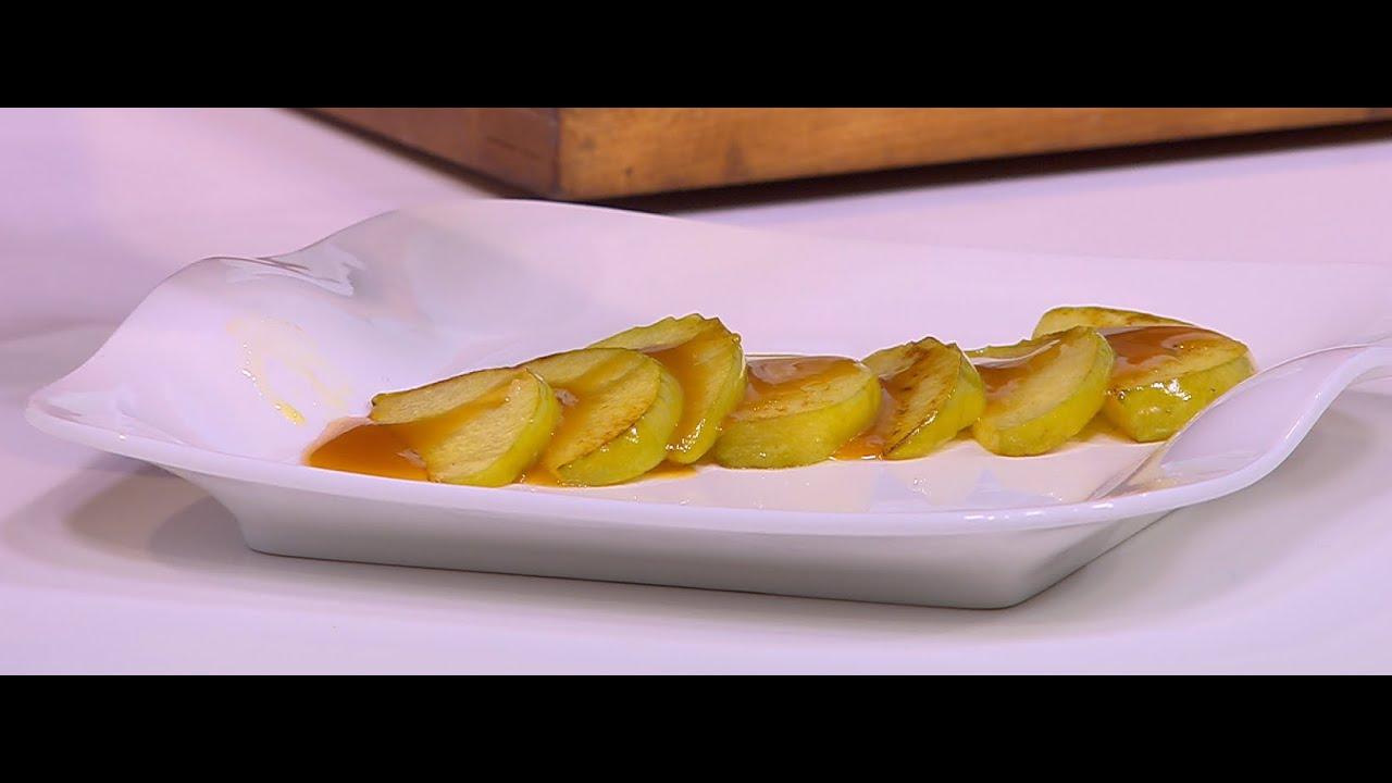 تفاح أخضر بالزبدة و الكراميل : هشام السيد