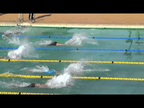 100 Butterfly KSF swim meet Nairobi 2015