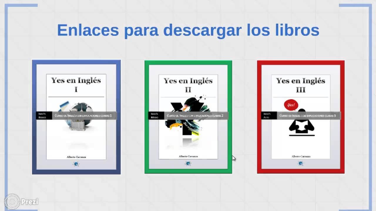 Descarga #Gratis Libros Para Aprender #Inglés Nivel Básico