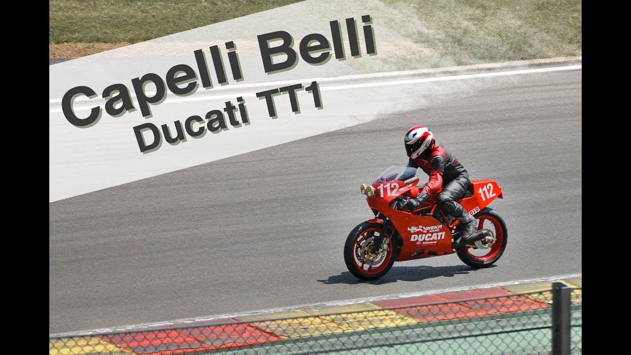 Aragon - European Classic Series 2017 - Capelli Belli auf Ducati TT1