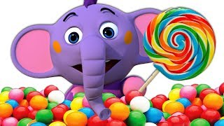 Candy Song  ce Cream Song and More 3D Rhymes and Songs for Babies by All Babies Channel