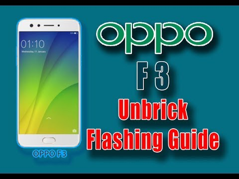 Repeat HOW TO FLASH OPPO F3 plus F3+ fix Demo live Dead off vibrate