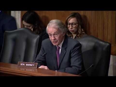 Senator Markey Discusses Marine Debris, Fisheries, Ghost fishing - May 17, 2016