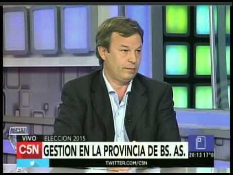 C5N - Eleccion 2015: Entrevista a Mariano Cascallares