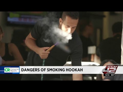 Dangers of smoking hookah