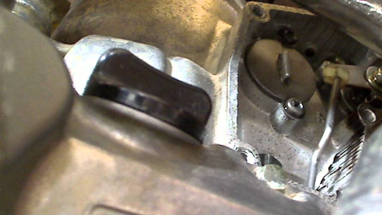 2001 rm 250 power valve exhaust valve action