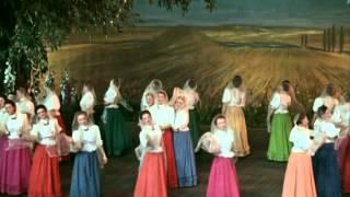 """Клара Лучко, Екатерина Савинова - Ой, цветёт калина (OST """"Кубанские казаки"""", 1949)"""