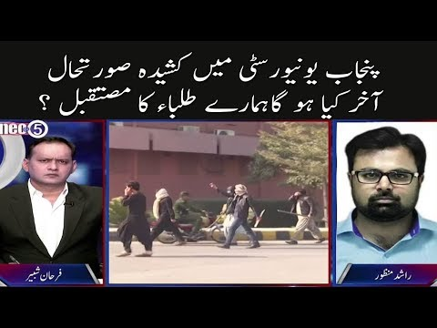 Allarming Situation of Punjab University | Neo @ 5 | 22 January 2018 | Neo News
