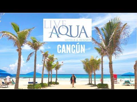 LIVE AQUA CANCÚN ¡TODO INCLUIDO! RESEÑA DEL HOTEL