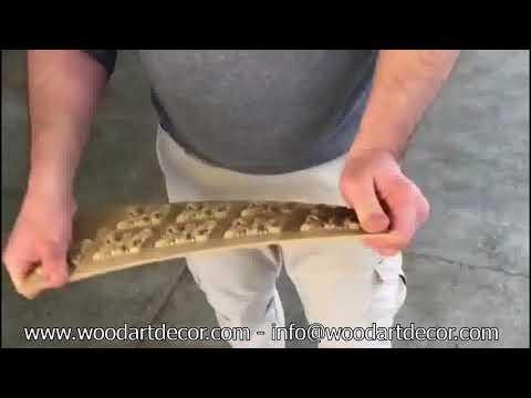Wood Applique - Ağaç Aplikler