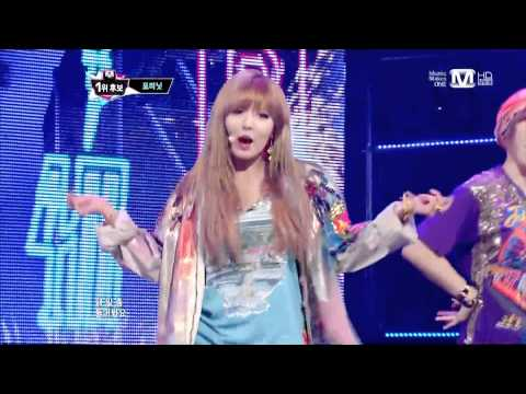 [130516] 4Minute (포미닛) - What's Your Name? (이름이 뭐예요?) @ MNet MCountdown