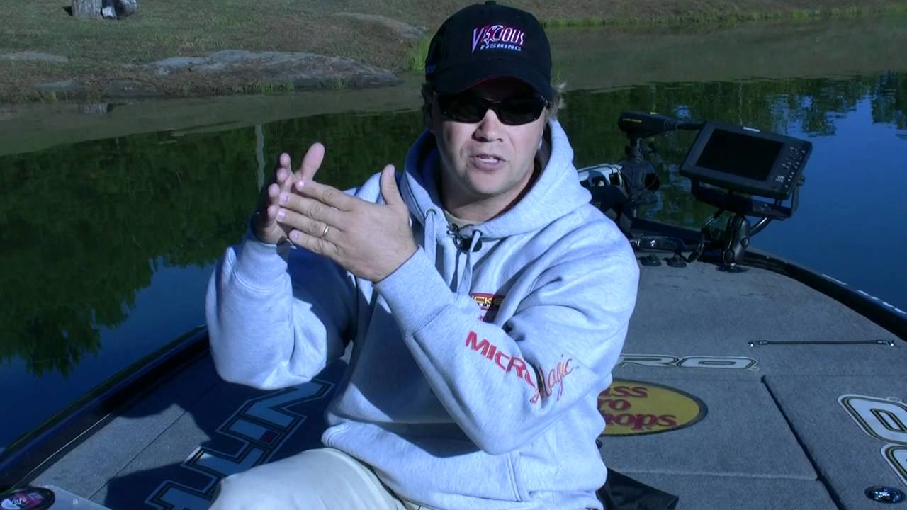 Tim horton talks about fishing with fluorocarbon youtube for Tim horton fishing