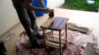 Building More Rustic Furniture From Scrap Wood