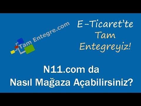 N11.com'da Nasıl Mağaza Açabilirsiniz?