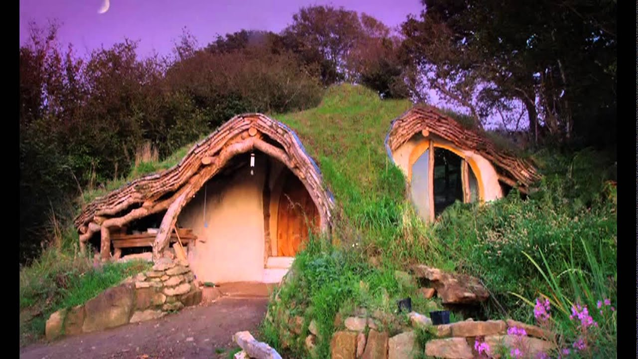 eco home design. Green Home Design  The Hobbit Tiny House 4500 Self Built Eco friendly YouTube