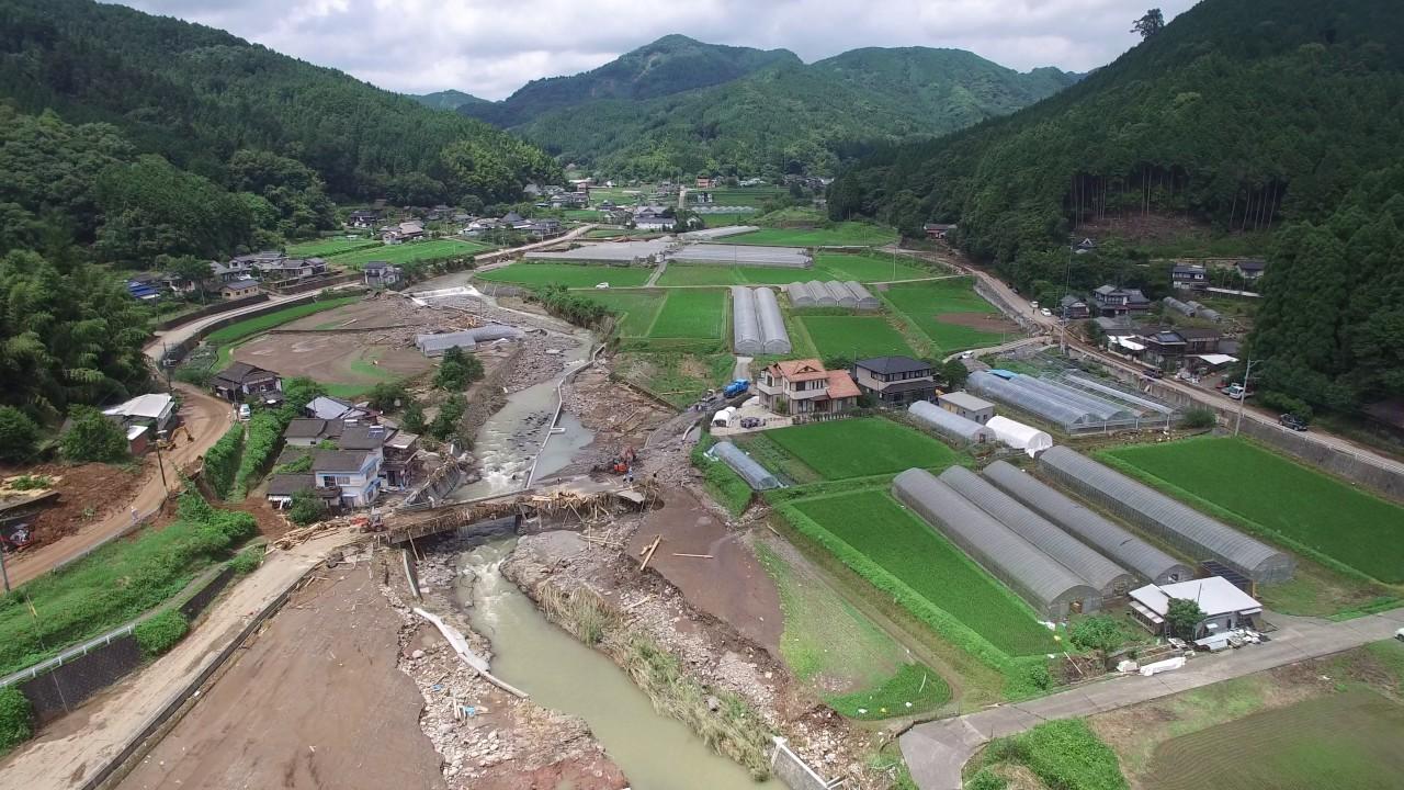 九州北部豪雨災害日田市大鶴地区...