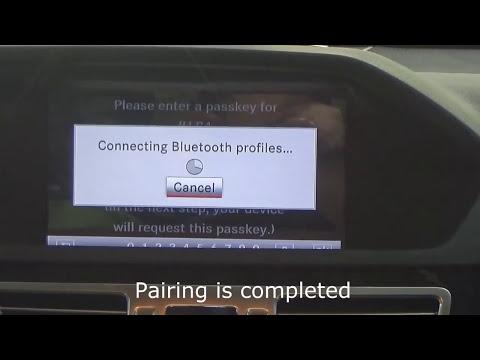 Bluetooth AUX Creator for Mercedes-Benz - Видео онлайн